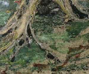 Earth - from Four Elements - embellished pictures