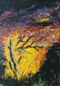 Fire - from Four Elements - embellished pictures